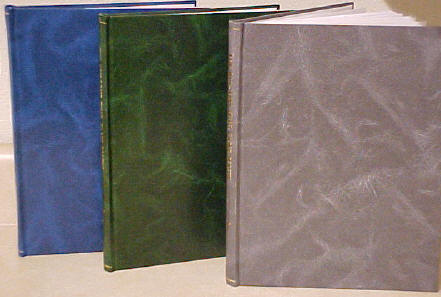 Deluxe hard cover books